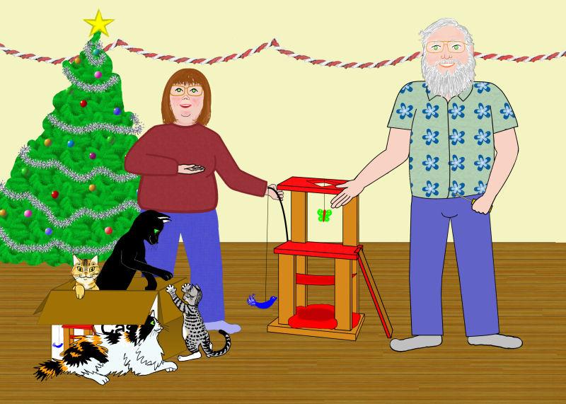 Image: 2007 Holiday card